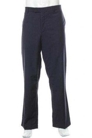 Мъжки панталон Strellson, Размер XL, Цвят Син, Вълна, Цена 14,58лв.