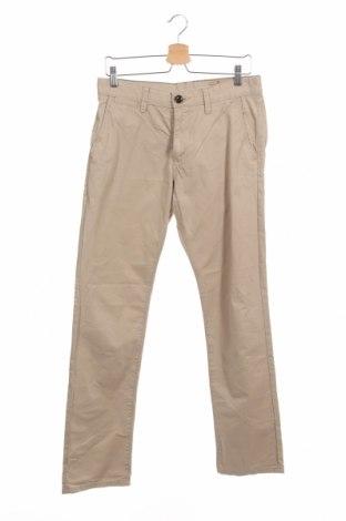 Мъжки панталон Tom Tailor, Размер S, Цвят Бежов, Памук, Цена 32,25лв.