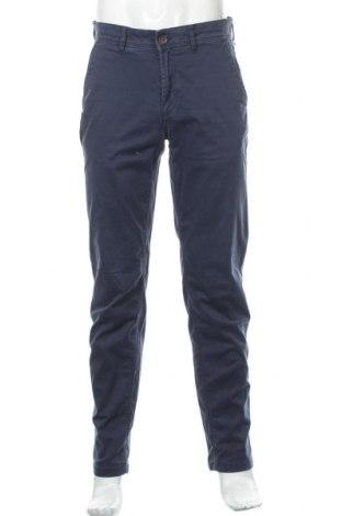 Ανδρικό παντελόνι Tommy Hilfiger, Μέγεθος M, Χρώμα Μπλέ, 98% βαμβάκι, 2% ελαστάνη, Τιμή 11,91€