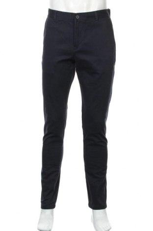 Ανδρικό παντελόνι Weekday, Μέγεθος M, Χρώμα Μπλέ, Βαμβάκι, Τιμή 10,76€