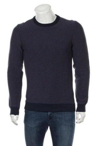 Мъжки пуловер Armedangels, Размер S, Цвят Син, Памук, Цена 32,25лв.