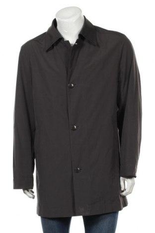 Pánský přechodný kabát  Hugo Boss, Velikost L, Barva Šedá, 52% bavlna, 43% polyester, 5% polyurethane, Cena  1015,00Kč
