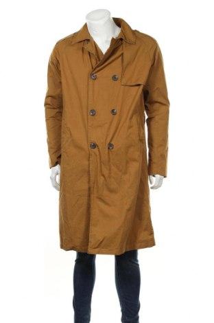 Pánský přechodný kabát  Pull&Bear, Velikost M, Barva Béžová, Bavlna, Cena  572,00Kč