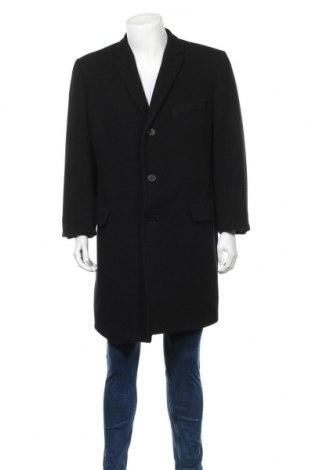 Мъжко палто Esprit, Размер L, Цвят Черен, 80% вълна, 20% полиамид, Цена 21,70лв.