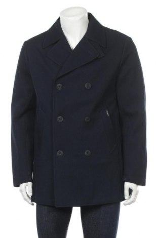 Pánský kabát  Faconnable, Velikost L, Barva Modrá, 88% polyester, 12% polyurethane, Cena  2319,00Kč