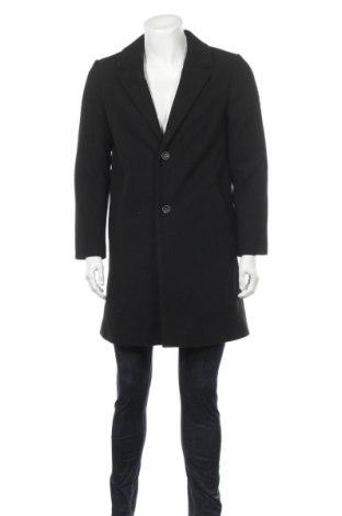 Мъжко палто Lft, Размер L, Цвят Черен, 79% полиестер, 16% вълна, 2% полиамид, 2% акрил, 1% вискоза, Цена 60,04лв.