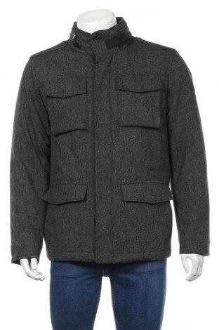 Мъжко палто Marc O'Polo, Размер L, Цвят Сив, 70% вълна, 22% полиестер, 8% коприна, Цена 145,32лв.