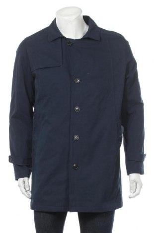 Pánský kabát  Selected Homme, Velikost L, Barva Modrá, 58% bavlna, 25% polyester, 17% polyamide, Cena  1036,00Kč