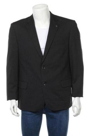 Мъжко сако, Размер L, Цвят Черен, 54% полиестер, 44% вълна, 2% еластан, Цена 7,98лв.