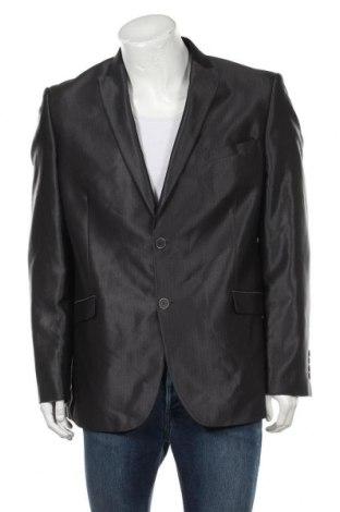 Мъжко сако Angelo Litrico, Размер XL, Цвят Сив, 80% полиестер, 20% вискоза, Цена 15,12лв.