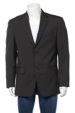 Мъжко сако Canda, Размер L, Цвят Черен, 83% полиестер, 17% вискоза, Цена 6,68лв.