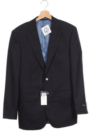 Мъжко сако Cortefiel, Размер S, Цвят Син, Вълна, Цена 36,80лв.