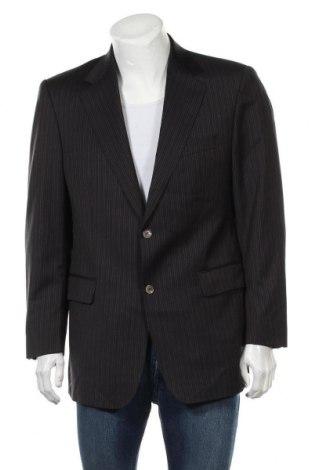 Мъжко сако Eduard Dressler, Размер L, Цвят Черен, 100% вълна, Цена 25,19лв.