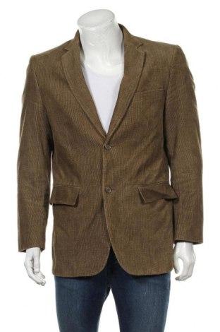 Мъжко сако H&M, Размер M, Цвят Зелен, Памук, Цена 6,83лв.