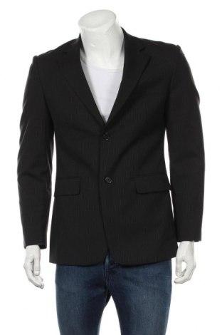 Мъжко сако Matinique, Размер M, Цвят Черен, 98% вълна, 2% полиестер, Цена 17,70лв.