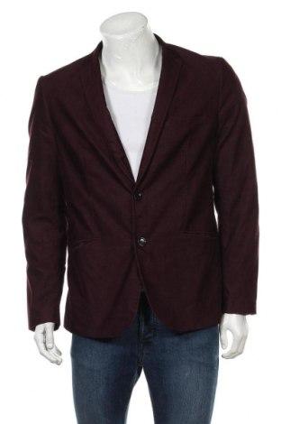 Ανδρικό σακάκι WE, Μέγεθος L, Χρώμα Κόκκινο, 69% βαμβάκι, 29% πολυεστέρας, 2% ελαστάνη, Τιμή 18,19€