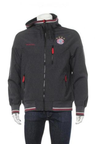 Pánská sportovní bunda  Bayern Munchen, Velikost L, Barva Šedá, 95% polyester, 5% elastan, Cena  670,00Kč