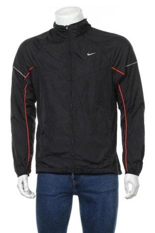 Мъжко спортно яке Nike, Размер M, Цвят Черен, Полиамид, Цена 15,12лв.