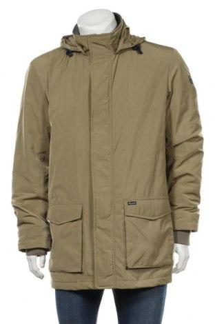 Мъжко яке Faconnable, Размер L, Цвят Зелен, 83% памук, 17% полиамид, Цена 91,90лв.