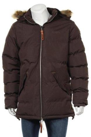 Мъжко яке Geographical Norway, Размер L, Цвят Кафяв, Полиестер, Цена 98,70лв.