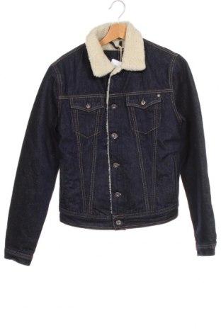 Мъжко яке Pepe Jeans, Размер S, Цвят Син, 100% памук, Цена 54,75лв.