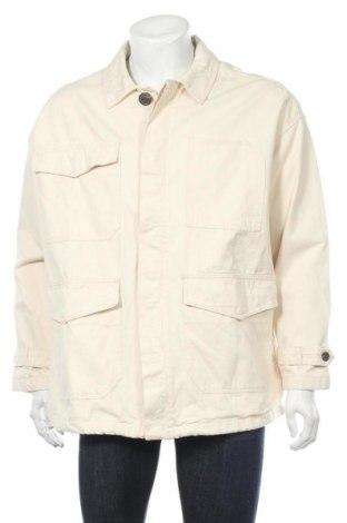 Мъжко яке Pull&Bear, Размер M, Цвят Екрю, Памук, Цена 47,24лв.