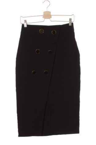 Φούστα Closet London, Μέγεθος XS, Χρώμα Μαύρο, 70% πολυεστέρας, 24% βισκόζη, 6% ελαστάνη, Τιμή 15,46€