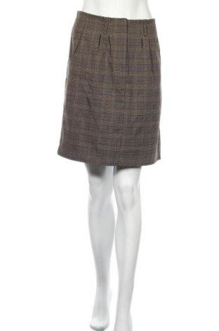 Sukně Ellen Amber, Velikost L, Barva Hnědá, 74% polyester, 24% viskóza, 2% elastan, Cena  64,00Kč