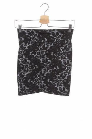 Φούστα Girl Xpress, Μέγεθος XS, Χρώμα Μαύρο, Βαμβάκι, ελαστάνη, Τιμή 2,08€
