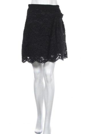 Пола Max&Co., Размер S, Цвят Черен, 48% памук, 31% вискоза, 21% полиамид, Цена 32,03лв.