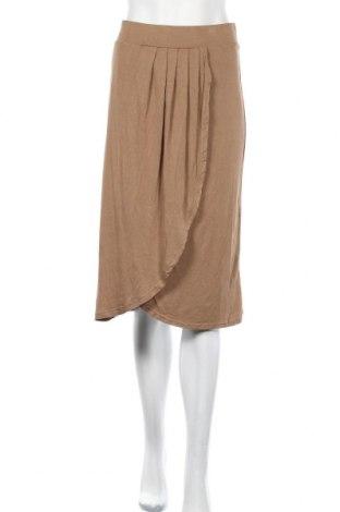 Φούστα Suzanne Grae, Μέγεθος XL, Χρώμα Καφέ, Βισκόζη, ελαστάνη, Τιμή 10,91€