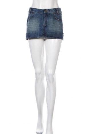 Φούστα Tommy Hilfiger, Μέγεθος M, Χρώμα Μπλέ, Βαμβάκι, Τιμή 9,09€