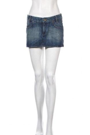 Φούστα Tommy Hilfiger, Μέγεθος M, Χρώμα Μπλέ, Βαμβάκι, Τιμή 10,39€