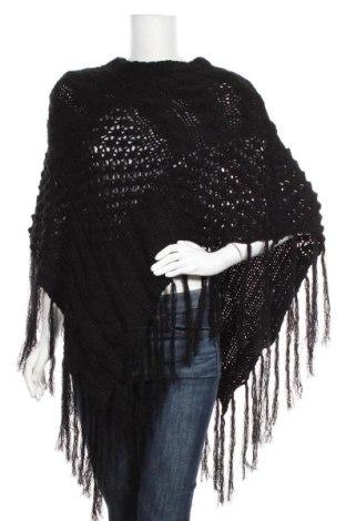 Пончо Y.Yendi, Размер M, Цвят Черен, Акрил, Цена 15,02лв.
