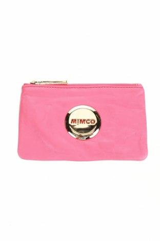 Peněženka Mimco, Barva Růžová, Pravá kůže, Cena  603,00Kč
