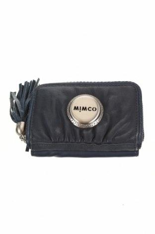 Портмоне Mimco, Цвят Син, Естествена кожа, Цена 50,40лв.