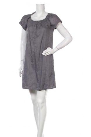 Рокля Bruuns Bazaar, Размер S, Цвят Сив, Памук, Цена 40,50лв.