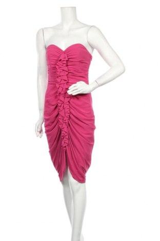 Рокля H&M, Размер M, Цвят Розов, Полиестер, Цена 7,61лв.