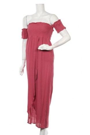 Рокля Miss Shop, Размер M, Цвят Розов, Вискоза, Цена 41,06лв.
