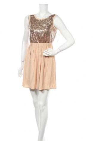 Рокля Miss Shop, Размер S, Цвят Розов, Полиестер, вискоза, Цена 12,86лв.