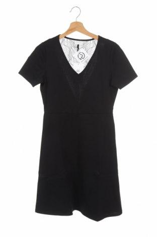 Φόρεμα Vila, Μέγεθος XS, Χρώμα Μαύρο, 60% πολυεστέρας, 32% βισκόζη, 5% ελαστάνη, Τιμή 3,41€