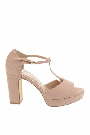 Σανδάλια About You, Μέγεθος 41, Χρώμα Ρόζ , Κλωστοϋφαντουργικά προϊόντα, Τιμή 22,91€