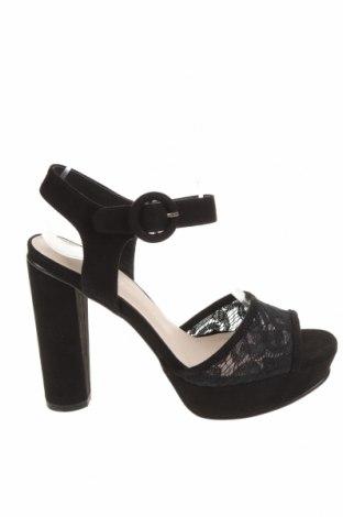 Σανδάλια Anna Field, Μέγεθος 37, Χρώμα Μαύρο, Κλωστοϋφαντουργικά προϊόντα, Τιμή 18,95€