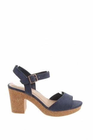 Sandale Dorothy Perkins, Mărime 36, Culoare Albastru, Textil, Preț 89,41 Lei