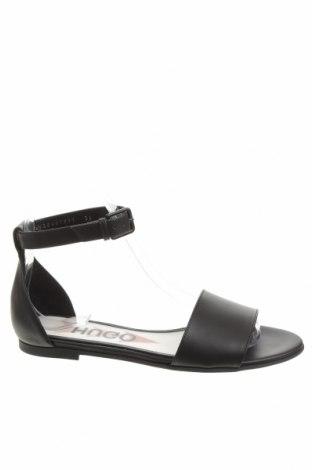 Sandale Hugo Boss, Mărime 36, Culoare Negru, Piele naturală, Preț 426,81 Lei
