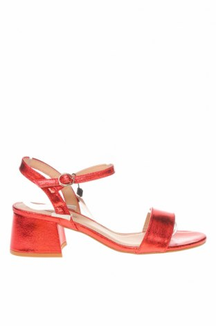 Σανδάλια MTNG, Μέγεθος 36, Χρώμα Κόκκινο, Δερματίνη, Τιμή 18,19€