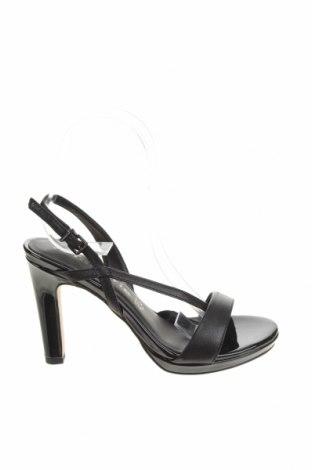 Сандали Tamaris, Размер 36, Цвят Черен, Естествена кожа, Цена 73,50лв.