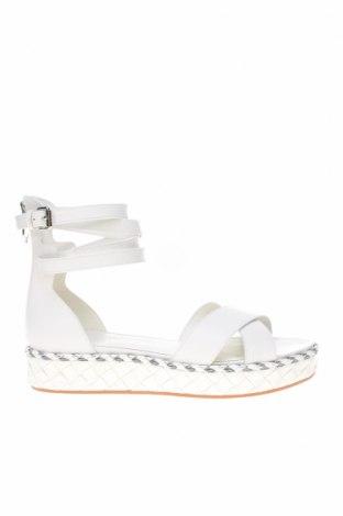 Sandály What For, Velikost 39, Barva Bílá, Pravá kůže, Cena  952,00Kč