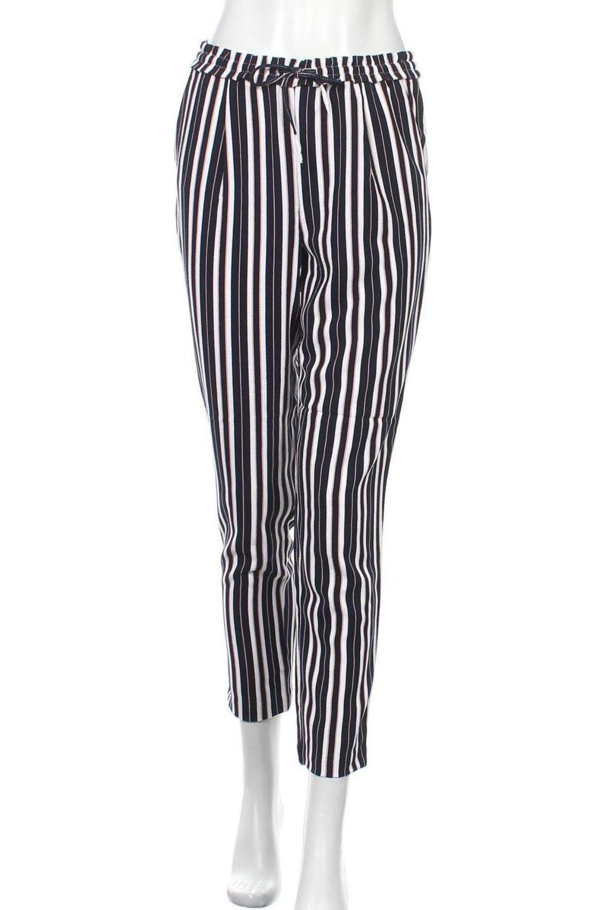 Дамски панталон ONLY, Размер S, Цвят Многоцветен, 97% полиестер, 3% еластан, Цена 8,43лв.