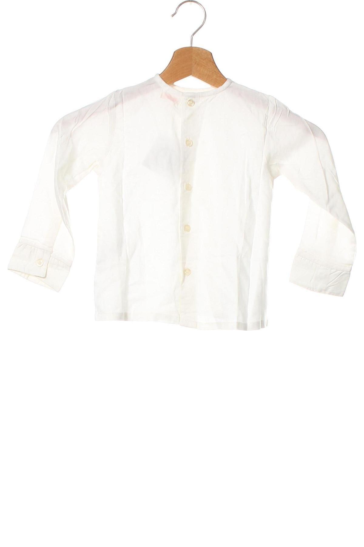 Детска блуза Gocco, Размер 18-24m/ 86-98 см, Цвят Бял, Вискоза, Цена 36,00лв.